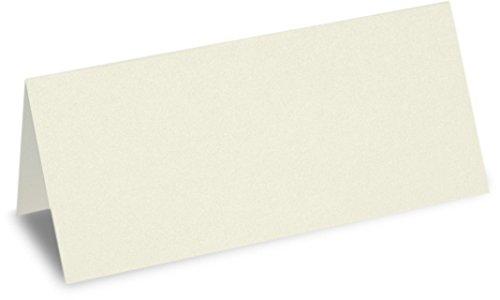 Meyco Tischkarten 100x50mm 25 Stk. Creme. Creme