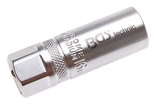 BGS 2401 | Vaso para bujías hexagonal | cuadrado interno | 12,5 mm (1/2') | 16 mm
