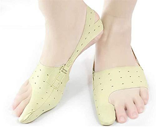 SYZHIWUJIA 1 par Valgus Corrección, Zapatos usables, Adulto Pulgar Corrección, Transpirable, Separador de Punta (Size : L)
