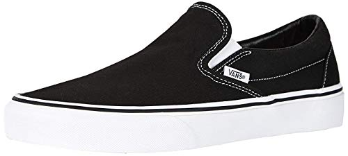 Vans Slip-On¿ Core Classics, Black (Canvas), 11 Women / 9.5 Men M US