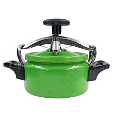 Mini Cocina de Vapor HOGAR PEQUEÑA PRESIÓN PRESIÓN COMPUESTA Cocina DE INDUCCIÓN DE Gas DE Gas 1.5L, 2L, 3L (Color : Black, Size : 1.5L)