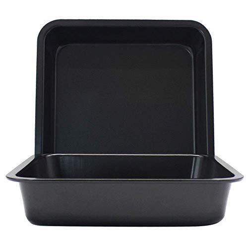 Geavanceerd koolstofstaal Anti-aanbak vierkante bakvorm Lade Utensilios Para Microondas Beste bakplaat Bakplaat - Hittebestendig Voor knutselen DIY