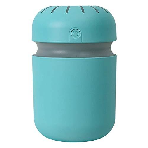 TOOGOO Cool Mist Humidifier Humidificadores de Aire, Purificador Difusor PortáTil EléCtrico USB para Sala de Estar del Dormitorio del Hogar, Azul