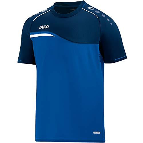JAKO Herren T-Shirt Competition 2.0, royal/marine, L