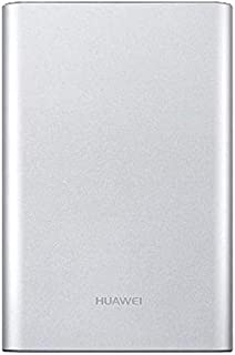 Huawei 13000mAh Wired Power Bank for Mobile Phones - AP007, Silver