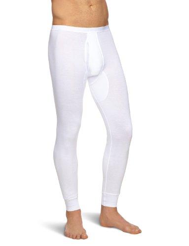 Schiesser Herren Lang Unterhose, Weiß (100-weiss), M EU