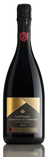 【ザクロやイチゴ、スミレの華やかな香り】ランブルスコ・グラスパロッサ・ディ・カステルヴェートロ D.O.P. 750ml [イタリア/スパークリング/辛口/winery direct]