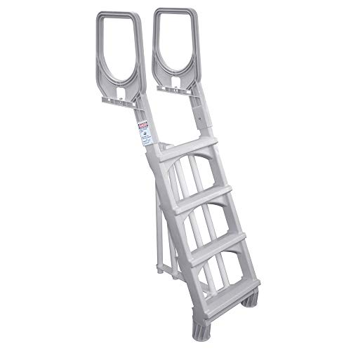New Main Access Comfort Incline Ladder for Above Ground Swimming Pools