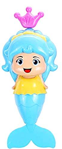 Badspeelgoed - zeemeerminmodel - handmatig opwinden - kinderen - baby's - zeemeerminmodel - gele kleur - origineel idee voor een verjaardagscadeau voor kerstmis