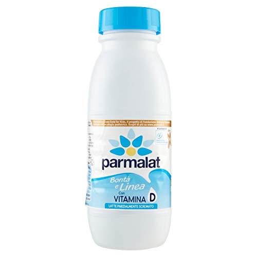 Parmalat Latte Parzialemente Scremato UHT, 500ml