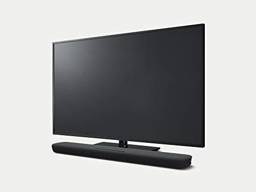 Yamaha Yas-109 Soundbar, Cassa Altoparlante TV con Controllo Vocale Alexa Integrato e Suono Surround 3D, Bluetooth per lo Streaming Musicale Wireless, Nero