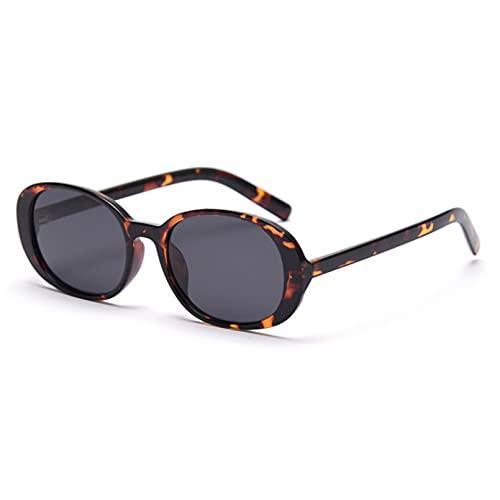 LUOXUEFEI Gafas De Sol Gafas De Sol Ovaladas Para Mujer, Hombre, Gafas Pequeñas, Gafas De Viaje