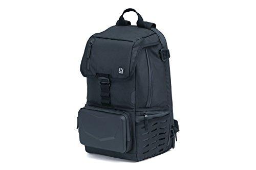 Kuryakyn 5292 XKursion XB Dispatch Backpack: Weather Resistant Motorcycle Travel Luggage Bag with Mounting Straps, Black