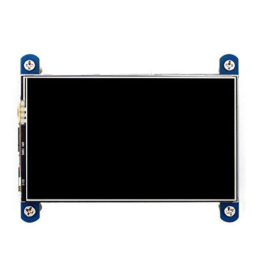 weichuang Elektronisches Zubehör, 800 x 480, 10,2 cm (4 Zoll), resistiver Touchscreen, IPS-LCD-Bildschirm, HDMI-Schnittstelle, für RPi-Elektronikteile, Elektronikzubehör