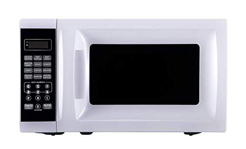 OKSLO 0.7 cu ft. 700 watt microwave, white with 10 power levels