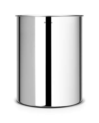 Papierkorb 15 L / Brilliant Steel