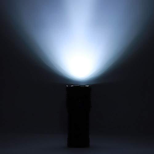 Linterna de 5400lm, taza de luz de aluminio Linterna LED de aleación de aluminio para iluminación nocturna para acampar Viajar Pesca, caza, montañismo