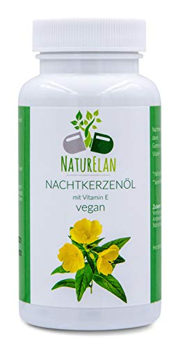 NaturElan - Olio di enotera - Vegan - 90 capsule