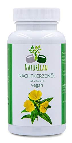 NaturElan - Nachtkerzenöl - Vegan - 90 Kapseln
