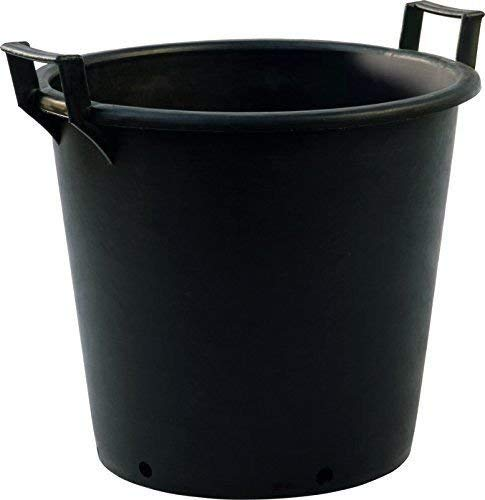 Muddy Hands 90 Litre Heavy Duty Large Plastic Plant Pots with Handles Outdoor Garden Tree Planters Containers (1)