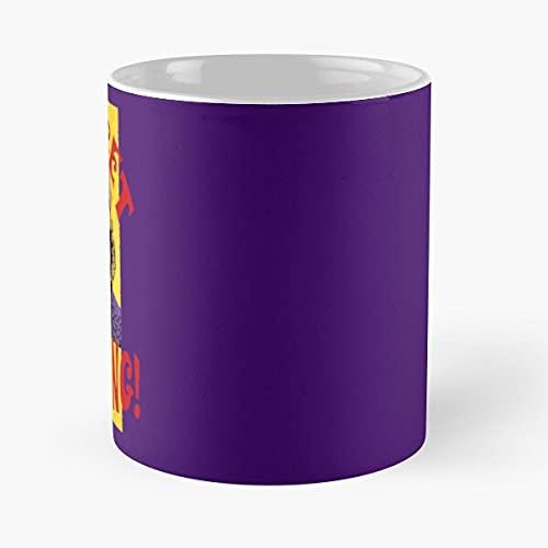You Get Nothing! Willy Wonka - Taza de cerámica de mármol blanco