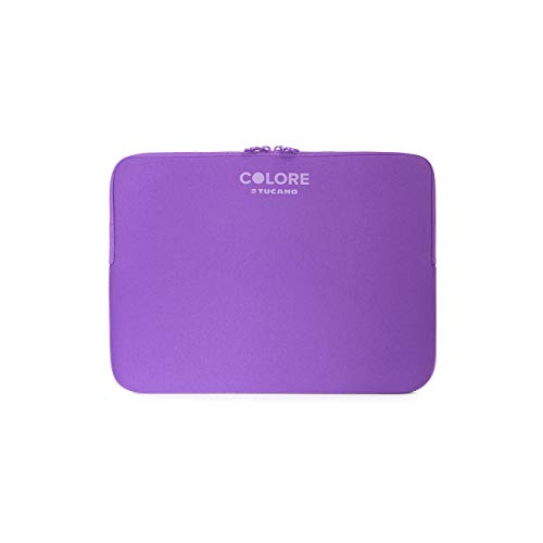 TUCANO Custodia in neoprene per notebook 11.6  & 12.5  Colore Second Skin (Viola)