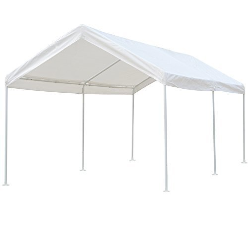 Snail 10 X 20 ft Heavy Duty All-Purpose Waterproof Outdoor Domain Carports Portable Auto Car Canopy Garden Instant Shelter