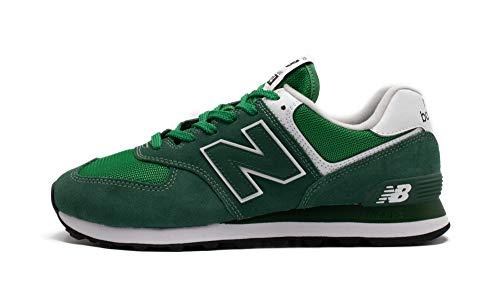 New Balance Mens ML574SSP_44,5 Sneakers, Green, 44.5 EU