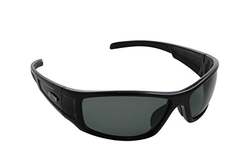 Sea Striker Sea Star Polarized Sunglasses, Black Frame, Grey Lens