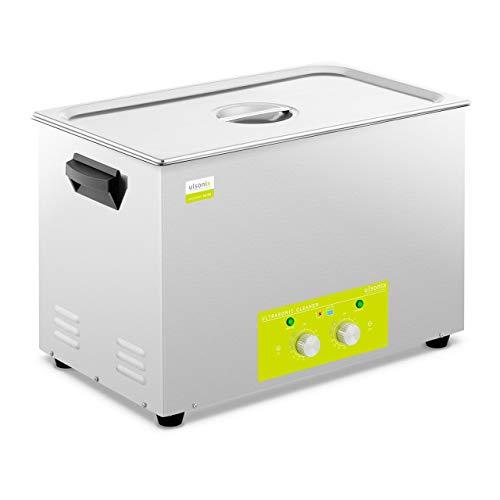 ulsonix PROCLEAN 22.0H Ultraschallreiniger 22 Liter Ultraschallreinigungsgerät Heizleistung 470 W Ultraschallleistung 360 W 40 kHz