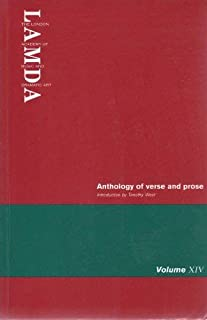 Lamda Anthology of Verse and Prose (v. 14)