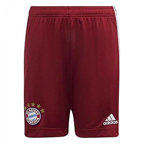 adidas Jungen FCB H SHO Y Kurze Hose, Rot (Rojart), 140