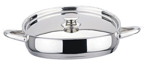 Callaway Casserole INOX Induction 28 cm avec Couvercle