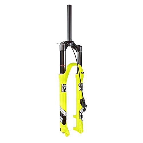 ZPPZYE Horquilla Bicicleta MTB Aleación Aluminio 26 Pulgadas 27,5' 29 ER Horquilla Suspensión Neumática 1-1/8' Horquilla Control Remoto Viaje 140mm (Color : Remote Lock A, Size : 26 Inch)