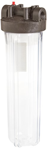 WATTS WATTS-W20FFPH1CBPR Number 20 Big Clear Whole House Water Filter Housing
