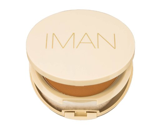 Iman Cosmetics Poudre Compacte Sébo-Absorbante Light Medium