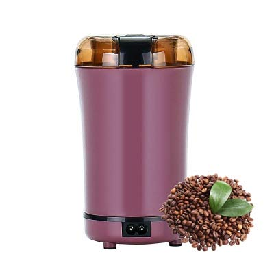 JIEQIJIAJU Electric Coffee Grinder Grain Mill Portable Automatic Milling Machine with Stainless...