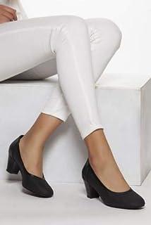 TARÇIN Hakiki Deri Klasik Günlük Kadın Topuklu Ayakkabı TRC71-1957