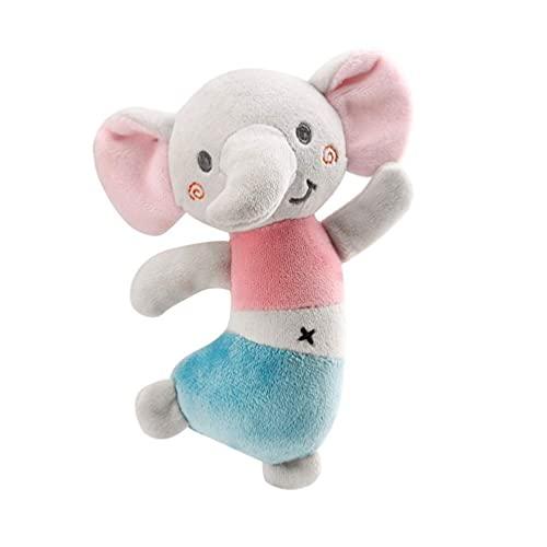 Turtle Story Sonajeros para bebé recién nacido juguetes de peluche Handbell Grab Educación temprana Sonajero de mano JXNB (color: imagen 1)