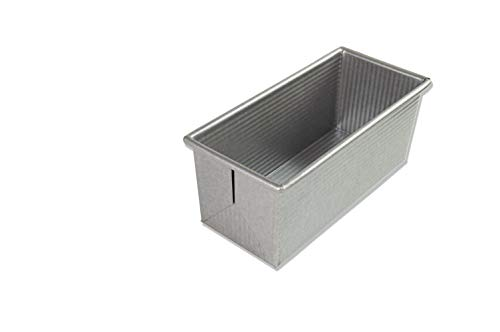 USA Pan Bakeware Pullman Loaf Pan, Small