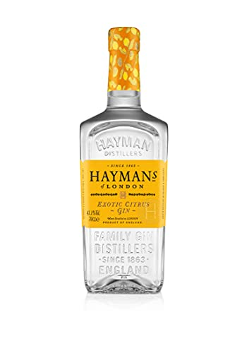 Hayman's Exotic Citrus Gin 70cl   An Enticing Citrus Flavoured Gin   With Kumquat, Mandarin, Pomelo...