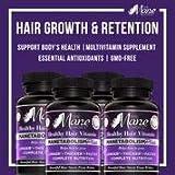 THE MANE CHOICE - MANETABOLISM Plus: Healthy Hair Growth Vitamins (60 Capsules - Pack of 4)
