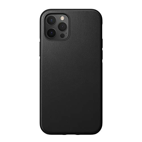 Nomad Rugged Leather Case Black for iPhone 12 Pro Max/12 Pro Cases