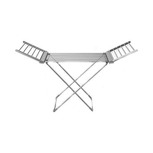 TWW Tendedero Plegable Eléctrico con Forma De ala, Tendedero Plegable para Secado De Ropa, Balcón, Tendedero Eléctrico Plegable, Estante De Suelo,A