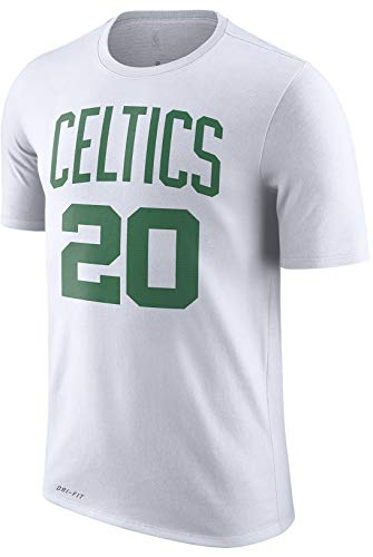 NBA Youth 8-20 Performance Dri Fit Icon Association Edition Name & Number Player T-Shirt (18-20, Gordon Hayward Boston Celtics White Association Edition)