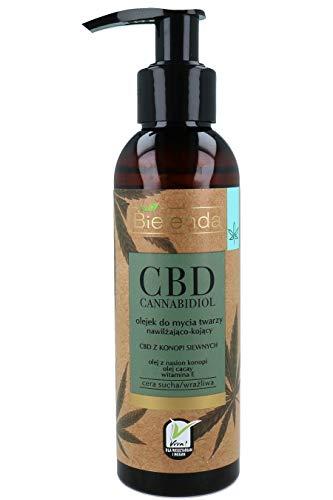 BIELENDA_CBD Cannabidiol olejek do mycia do twarzy 140ml