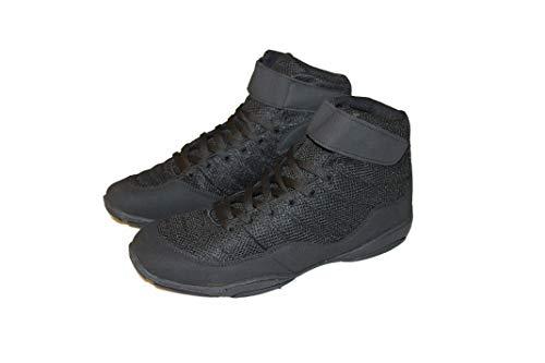 protectWEAR the safety kick Chaussures de Boxe Noires Cuir/Tissu à Mailles - 38