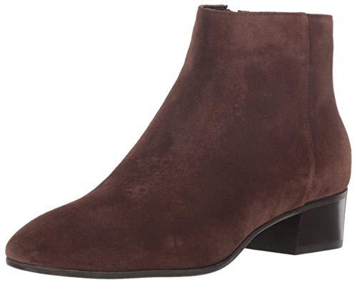 Aquatalia Women's Fuoco Suede Ankle Boot, espresso, 8.5 M US
