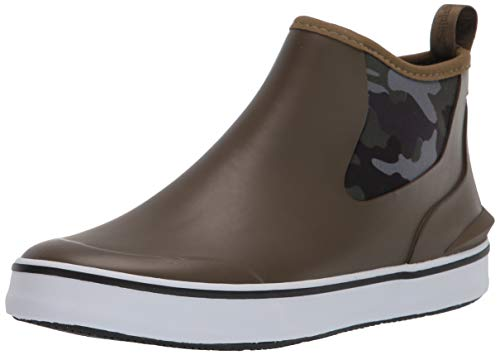 Hush Puppies Women's Rain Sneaker BU Boot, OLIVE/CAMO, 9