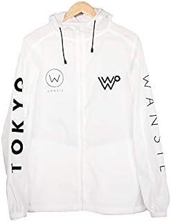 LOGO NYLON JACKET(XL、ホワイト)